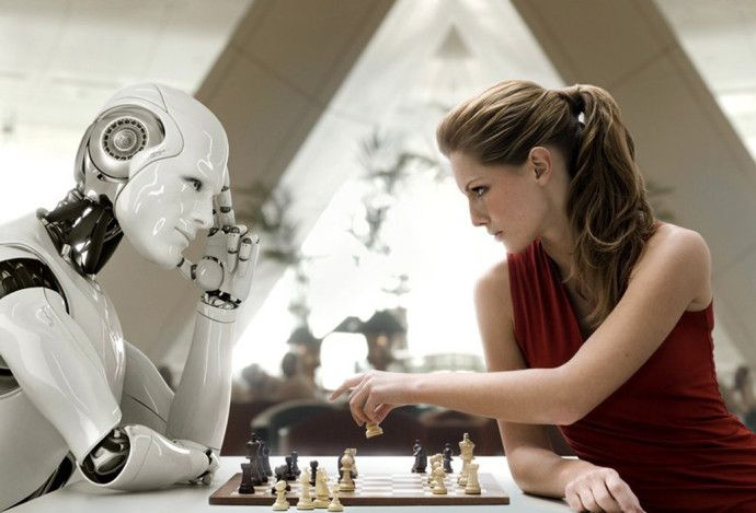 playing-chess-with-robot
