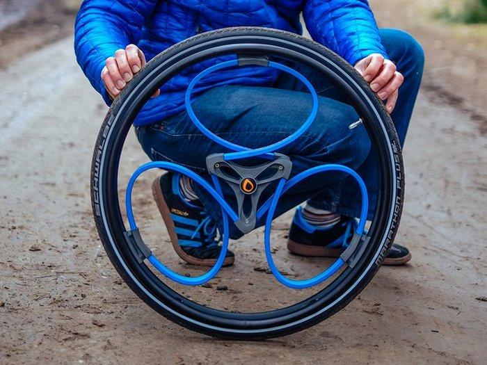 Как сделать колеса со спицами