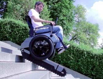 Scalevo: инвалидное кресло, которому не страшны бордюры, лестницы и прочие преграды