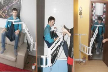 MINIK — самый маленький универсальный электрический подъёмник для инвалидов