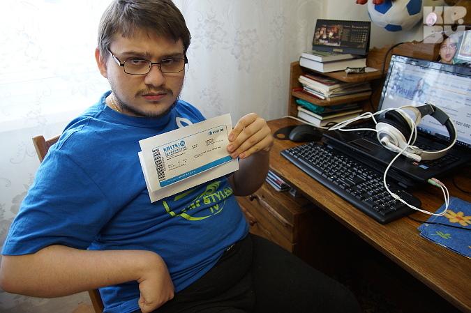 Ник Вуйчич в Минске: самые дешевые билеты 200 тысяч, а колясочникам обещают только по 920 тысяч