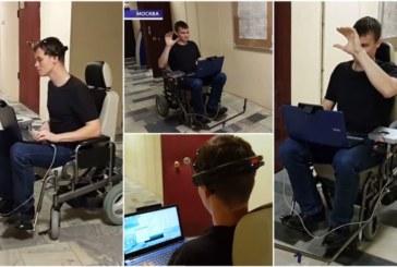 Российские ученые разработали инвалидное кресло, которым можно управлять силой мысли