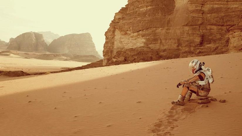 Кадр из фильма «Марсианин».