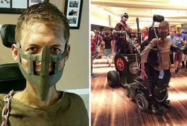 Парень-инвалид сам создал себе образ для косплея последнего фильм Mad Max