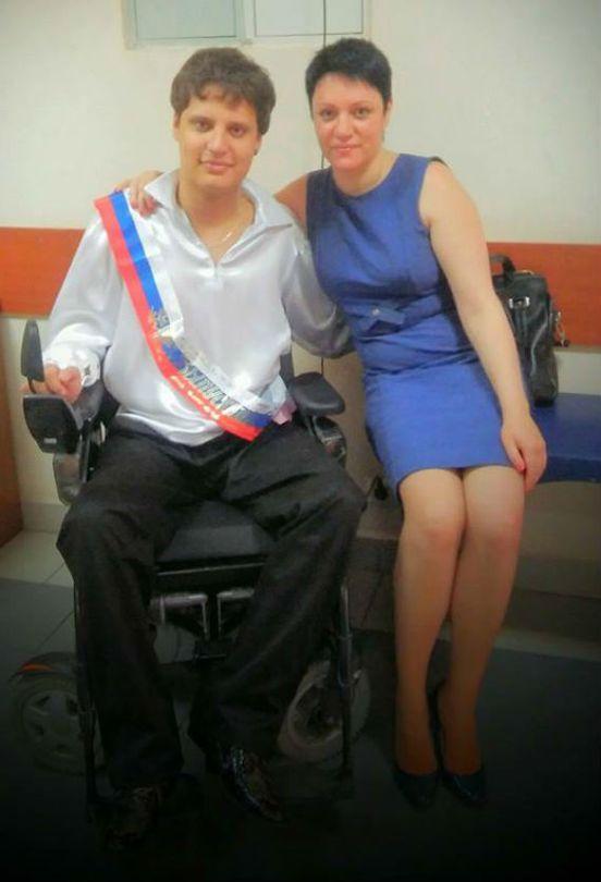 Елена Вербенина с сыном
