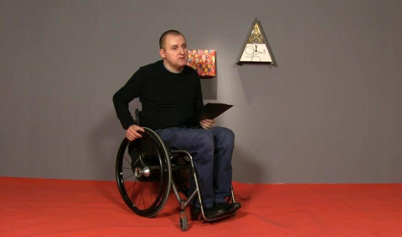 «Не стыдно спросить» у инвалида-колясочника, который живет по полной. ВИДЕО