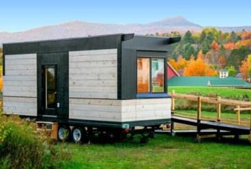 Мобильный дом для людей с ограниченными возможностями площадью всего 18,5 кв. метров