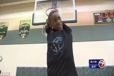 13-летний баскетболист без рук впечатлил соцсети своим мастерством