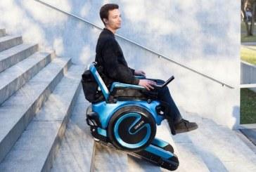 Scewo: Инвалидная коляска — вездеход