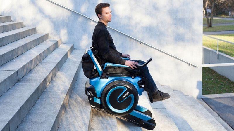 Scewo: Инвалидная коляска - вездеход