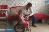 Кемеровчанин создал уникальное инвалидное кресло для своей дочки