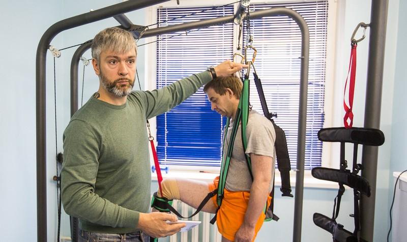 Белорусы разработали тренажер для людей с ДЦП, болезнью Паркинсона и перенесших инсульт