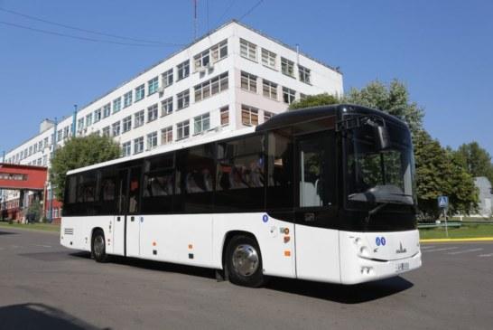 Минский автозавод выпустил «богатырский» автобус со специальным лифтом и местом для колясочников