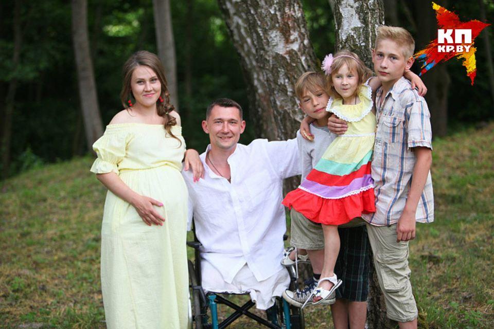 Алексей Талай: «Даже без рук и ног я полноценный отец и муж»