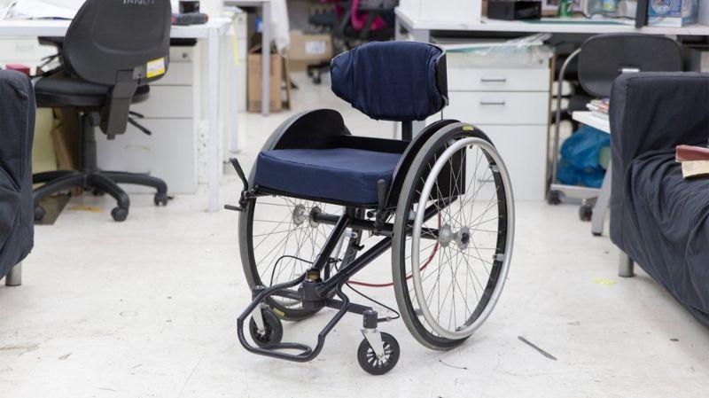 Reagiro: Инвалидная коляска с чувством свободы