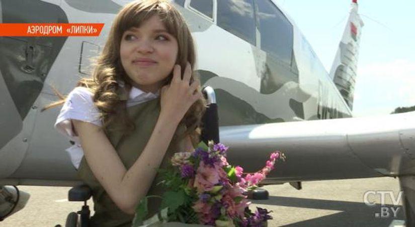 «Было очень круто!» Волонтеры и Минский аэроклуб исполнили мечту девочки с мышечной атрофией