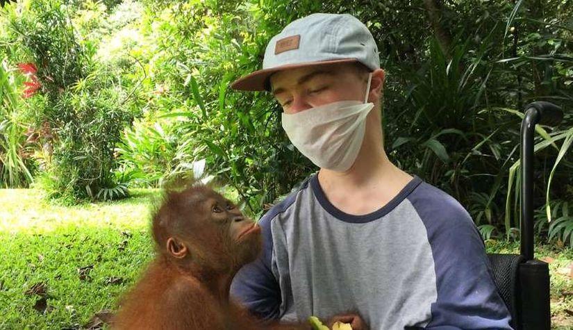Бенни Овер: Миодистрофия Дюшенна не помешала стать известным зоозащитником