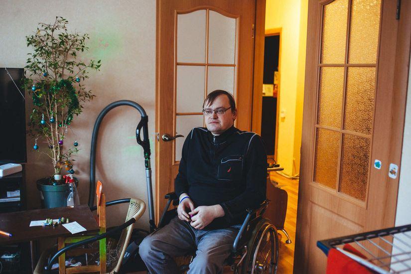 Сколько людей в Беларуси живут с таким же диагнозом, как у Дмитрия, точно не известно. Минздрав не ведет реестр Фото: Александр Васюкович
