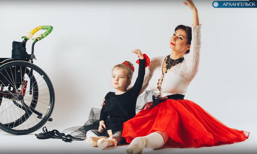 В Архангельске снимают фильм про маленькую фотомодель с особенностями