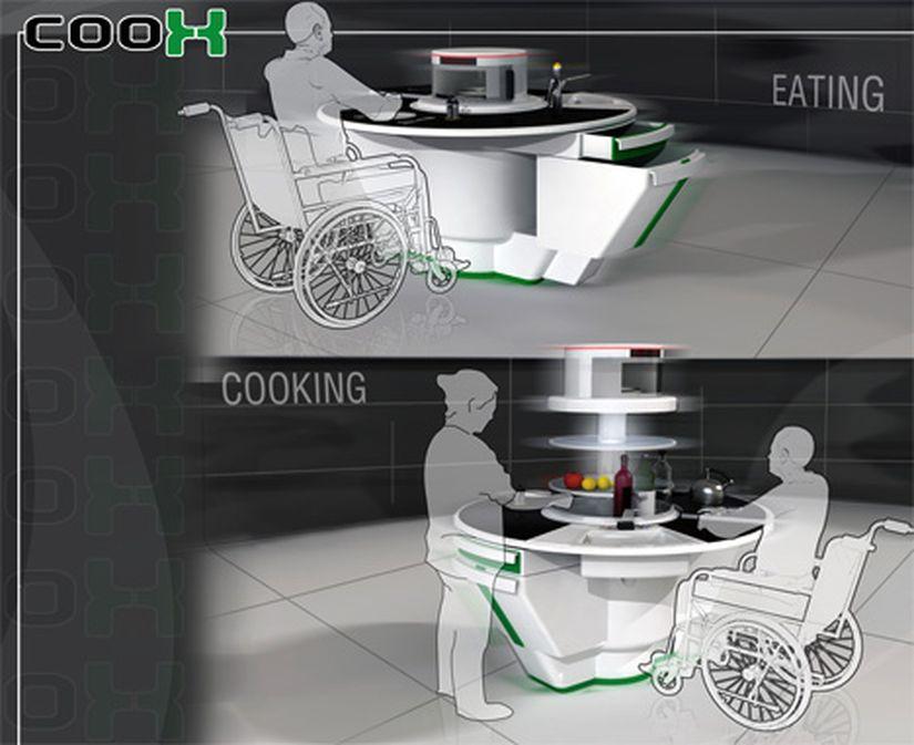 В Турции спроектировали компактную кухню для инвалидов