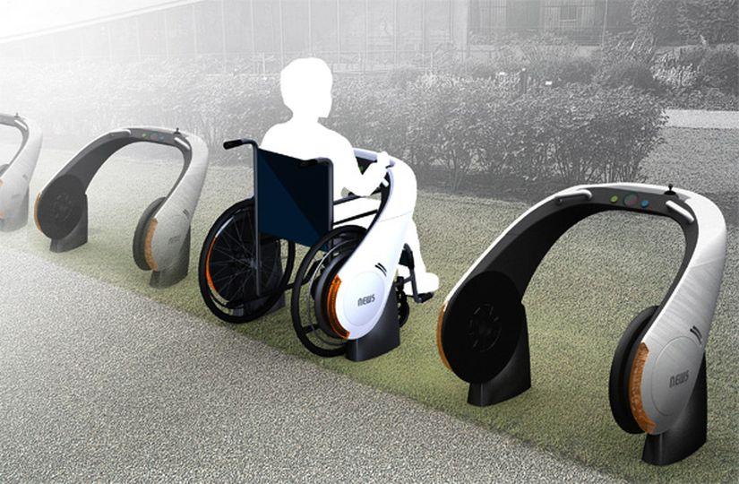 NEWS: электропривод для инвалидной коляски