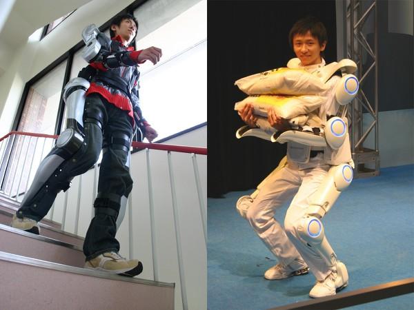 Японцы создают роботов, благодаря которым инвалиды смогут ходить