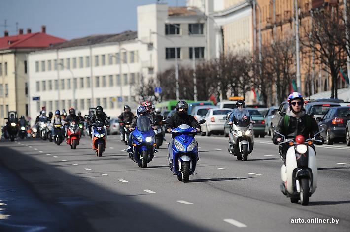 В Беларуси вводится регистрация мопедов и квадрациклов