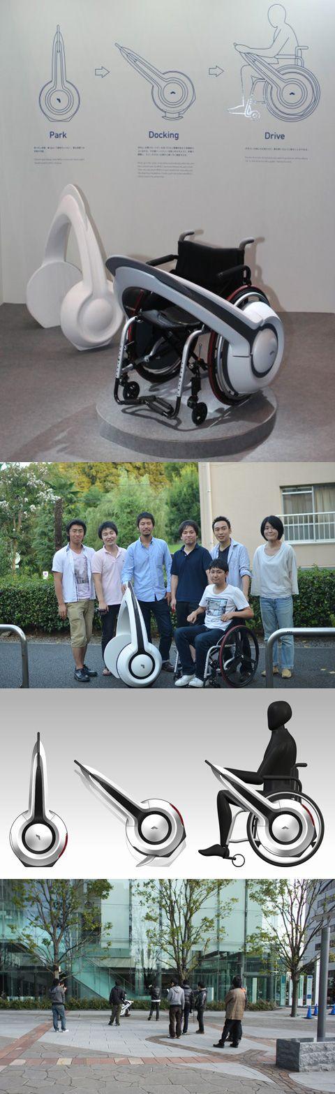 Новое устройство превращает инвалидное кресло в электромобиль (Фото/Видео)
