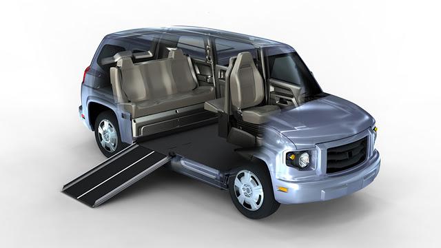 MV-1 – первый серийный автомобиль для инвалидов