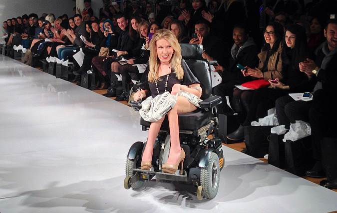 Danielle Sheypuk: Секс в большом городе в стиле инвалидности