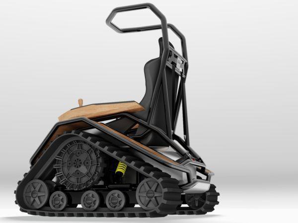 Внедорожная инвалидная коляска Der Ziesel: когда новый друг лучше старых двух