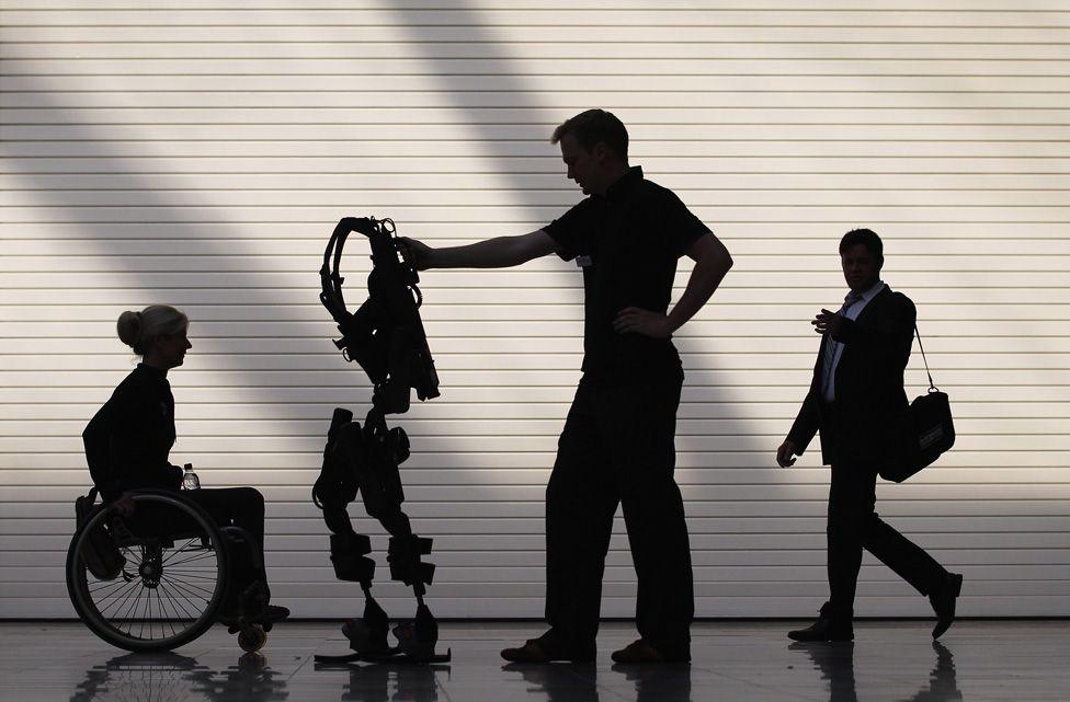 Технологии: Экзоскелет распечатанный на 3D-принтере