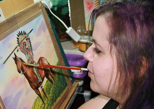 Линн Бэтэм: Необычная художница