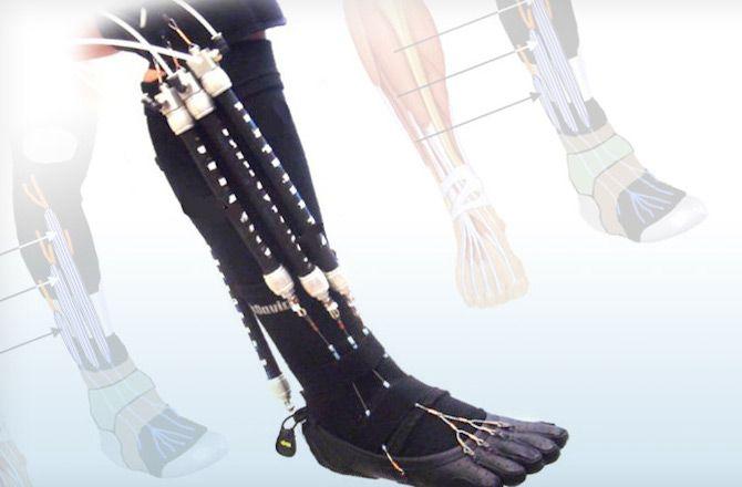 Носки с пневмомышцами