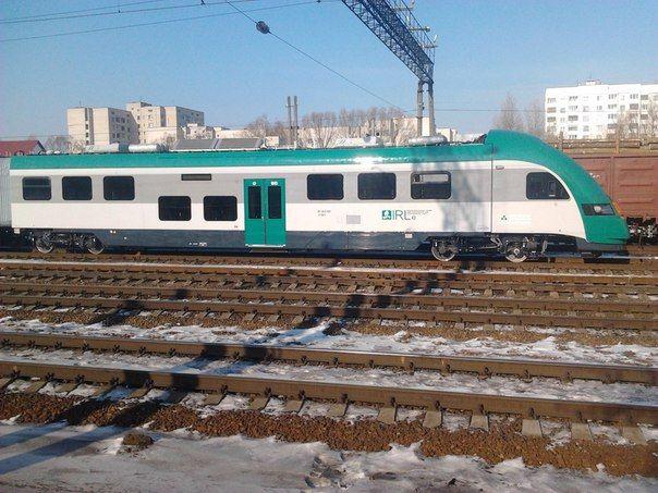 Польский дизель – поезд с кондиционерами и туалетом для инвалидов прибыл в Беларусь
