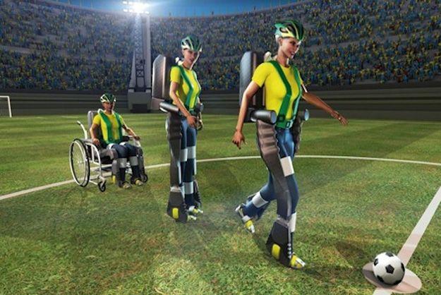 Экзоскелеты позволят людям с инвалидностью стать футболистами