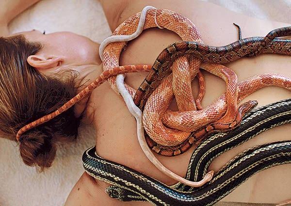 Змеиный массаж. Источник фото: Blogga.ru