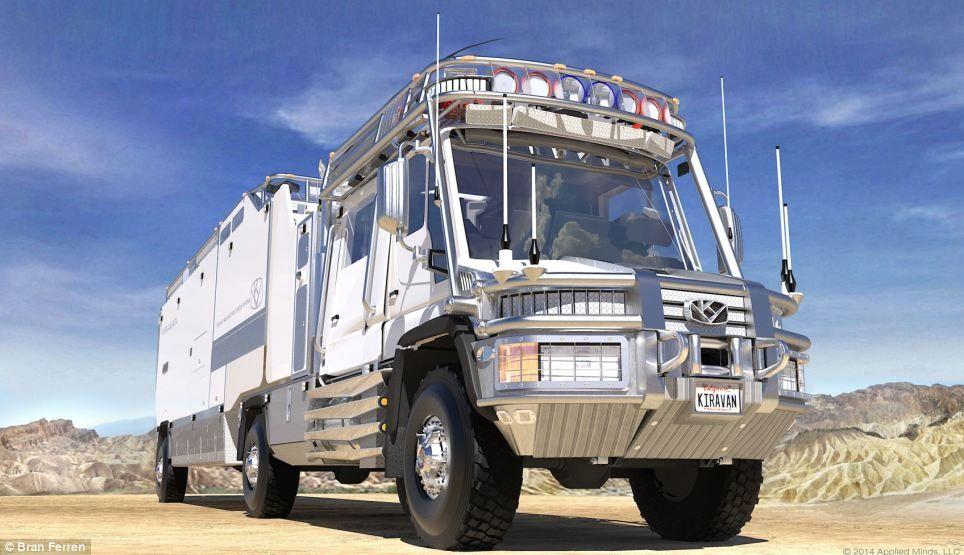 KiraVan – инновационный дом на колесах для путешествий по миру