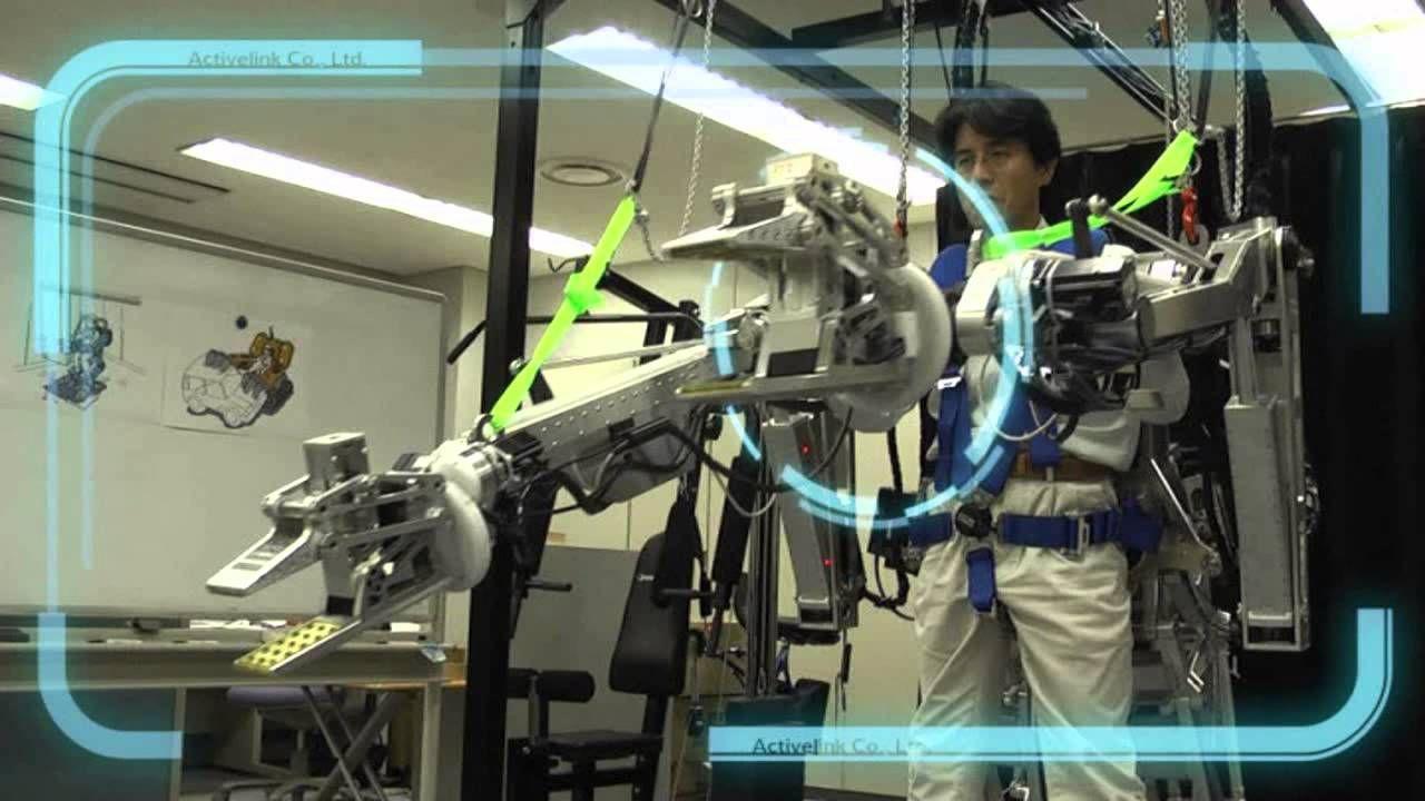 Экзоскелеты Panasonic поступят в продажу в 2015 году и будут стоить от $5000 до $7000