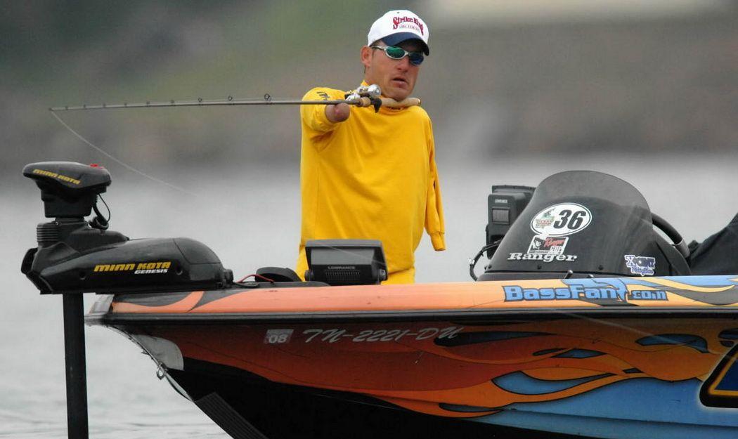 Клей Дайер: Для рыбалки, совсем не обязательно иметь руки и ноги