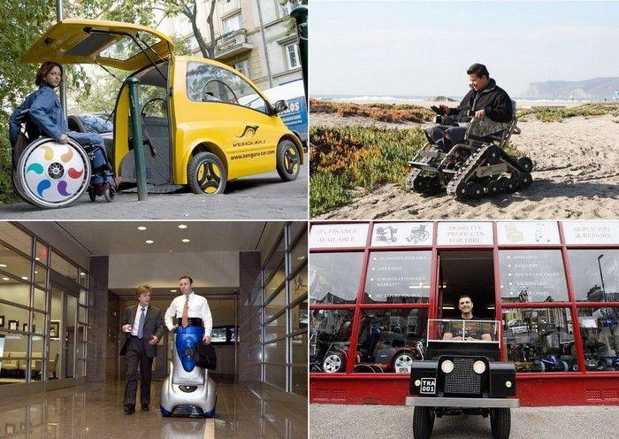 Без ограничений: 8 самых необычных транспортных средств для инвалидов