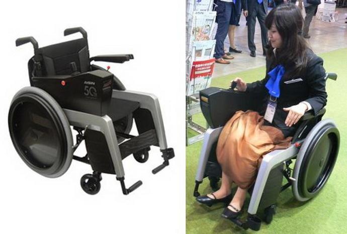 Японцы разработали инвалидную коляску с функцией обнаружения препятствий