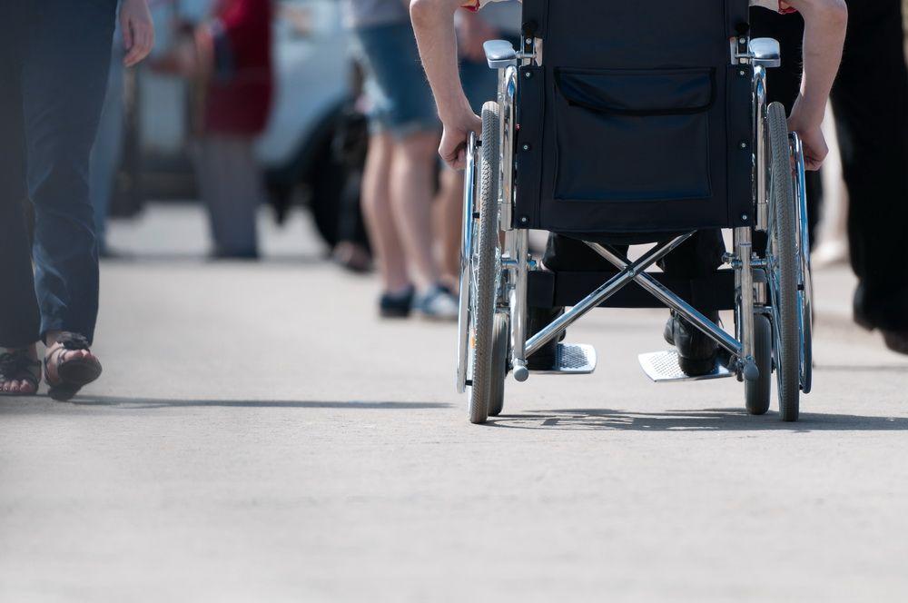 Провести пикет инвалиду помешала скорая