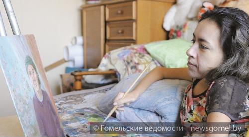 Картины гомельской художницы выставляются в Беларуси, России и Германии