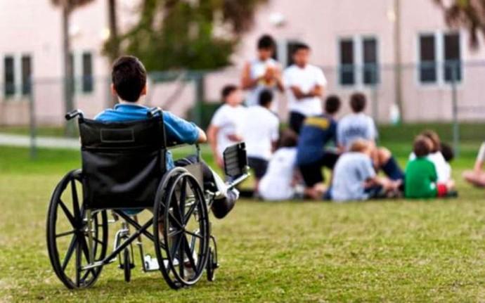 αναπηρο παιδι