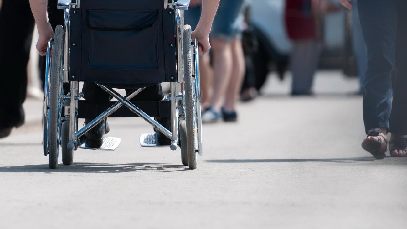 Общественный активист-инвалид Юрий Ляшенко отстаивает в суде свое конституционное право на пикет