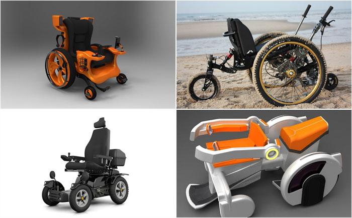 Потрясающие модели инвалидных колясок, способные изменить жизнь людей