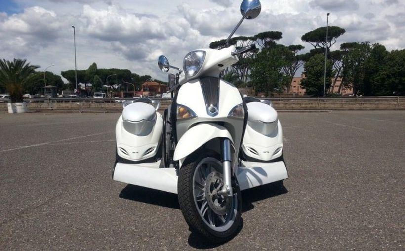 HDX3-Mobility от Hyper Division: скутер для инвалидов-колясочников