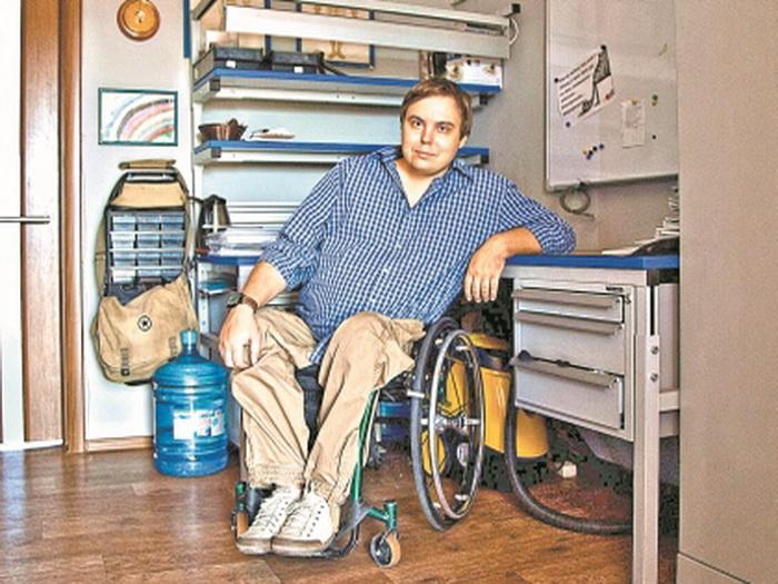 Бизнесмен-инвалид из Воронежа открывает мир для колясочников