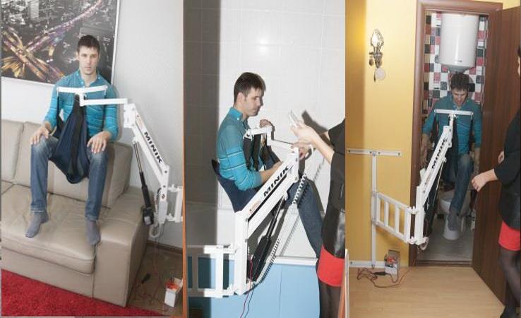 MINIK – самый маленький универсальный электрический подъёмник для инвалидов